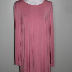 Charlotte Russe women rose dress SZ M